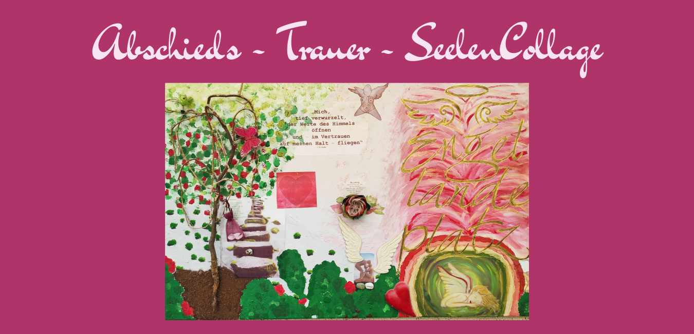 Trauer-Abschieds-Collage